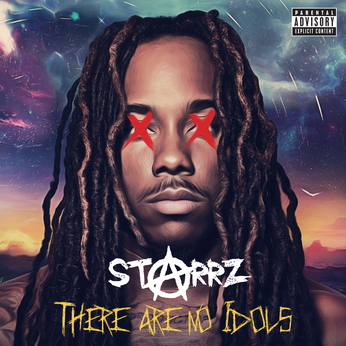 "BALTIMORE'S OWN STARRZ RELEASES HIGHLY ANTICIPATED NEW MIXTAPE ""THERE ARE NO IDOLS"" 